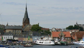 Old Harbour of Flensburg